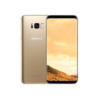 """Ricondizionato Originale Samsung Galaxy S8 Plus S8 G955U Octa Core G950U 64 GB 6.2 """"/5.8"""" 12.0MP Singolo SIM sbloccato telefono cellulare"""