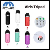 Star Treppiedi originale Airis Kit 650mAh 3 in 1 Dispositivo VV Pod per olio denso di cera E Kit vaporizzatore liquido QCell Quatz Technology
