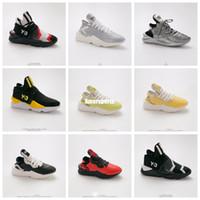 4c68d391a Wholesale y3 qasa online - 2019 New Black White Mens Y3 Qasa High Top  Sneakers top