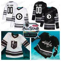 Kundenspezifische Männer Frauen Jugend Winnipeg Jets 2019 All-Star-Spiel  Parley Authentic Hockey Jersey f90e389fb