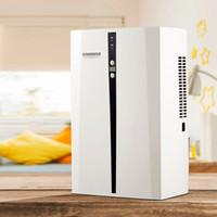 MD898 domestica intelligente Deumidificatore 750ml / giorno Muto Bedroom Guardaroba Bagno Aria Dryer 100V-240V Semiconductor asciugatura macchina