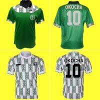1994 Edição Retro Nigéria vintage Soccer Jersey Starboy da camisa do futebol Okechukwu Dayo Ojo Osas Okoro clássico manga curta uniformes de futebol