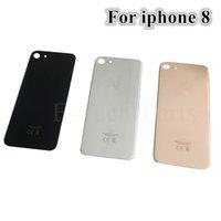 50PCS OEM Glasdeckel für iPhone 8G 8 Plus X Batterie Glas Rückseite Tür mit anhaftenden Aufklebern CE Europäischen Version DHL