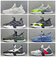 Hot Huarache 6 Drift Mesh Knit Zapatillas de deporte Static 6S Hombres Mujeres Entrenadores Deporte Low-top Trainer Outdoor Athletic Shoes Tamaño 36-45