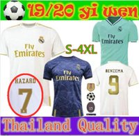 2020 Real Madrid Hazard soccer jersey 2019 2020 real madrid ...