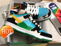 VENDA QUENTE DUNK SB Low Ben Jerry Skate Sneakers Safari Chunky Dunky Mens Womens Syracuse Kentucky Infrared Champ Shoes Últimas ss