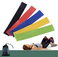 La tensión banda de resistencia Pilates Yoga bandas de resistencia de goma de fitness bucle de cable de estiramiento banda bandas ejercicio de entrenamiento de gimnasio de Crossfit elástico