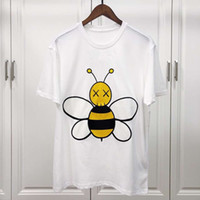 Men' s T Shirt 2019 Short Sleeve Big bee embroidery Roun...