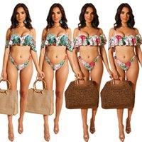 Donne Sexy Bikini + Bras Costume da bagno Plus Size S-2XL Costumi da bagno involucro petto + biancheria intima Beachwear Summer Beach Abbigliamento Abbigliamento da bagno Costume da bagno Vendita calda 2607