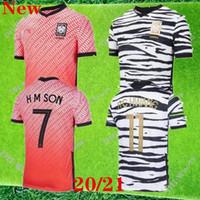 Nova 2020 da Coréia do Sul de Futebol FILHO 7 SON HUN KWON LEE KIM HO SON HYUNG KIM Casa Fora 2021 21 Coreia do Sul camisas de futebol