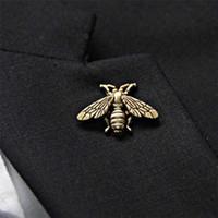 여자 남자 빈티지 골동품 입체 금속 귀여운 작은 꿀벌 곤충 브로치 브로치 핀 파티 액세서리 보석