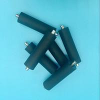 10 pz / lotto Konica 512 testa rullo di pressione per stampante di grande formato Allwin Human Xuli Flora KM512 rulli pressa in gomma 42,5 mm di lunghezza