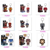 The Marvel Super hero Funko Pop Action Figure Key Chain Dead...