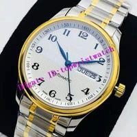 Top Master Colección de lujo del reloj para hombre ETA 2836 mecánico automático para hombre del reloj de cristal de zafiro 28800 VPH 316L reloj de acero inoxidable