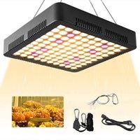 LED 성장 조명 1000W, 반사경 식물 빛 전체 스펙트럼 3500K 매달려 키트가있는 Sunlike Tri-Chips, 실내 식물 수경 용 램프 성장