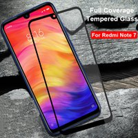 Full Cover Tempered Glass For Xiaomi Redmi Note 5 7 6A Scree...