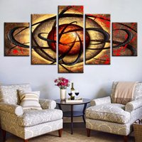 Canvas Print Pictures Living Room Eye Poster 5 Pieces Abstra...