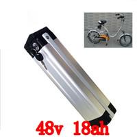 48V Batteriegebrauch für Samsung-Zelle Li-Ion Silberfischbatterie 48V 18AH elektrische Fahrradbatterie für Bafang 500W 750W 1000W mo
