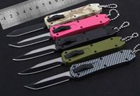 MINI 150-10 V5161 bm3300 utx85 bm3500 A07 알루미늄 블레이드 야외 캠핑 사냥 절단 칼 EDC 도구를 접는 taoto 전술 나이프를 처리
