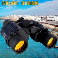 Новый 60X60 оптический телескоп ночного видения Бинокли высокой четкости 3000M водонепроницаемый высокой мощности Определение Открытый охоты