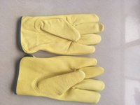 Working Protection Gloves Safety Welding Leather Glovess Yel...