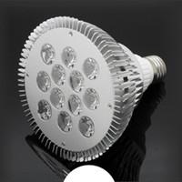 LED PAR 30 38 E27 COB luz del proyector 36W 18W AC85-265V 130LM aluminio Par38 Par30 bombilla de la lámpara de iluminación directa cubierta de Shenzhen, China