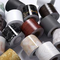 Etiquetas de pared autoadhesivas Etiquetas de la pared Color sólido PVC PVC impermeable alájaro de la cintura de la cintura Línea de transmisión Línea de transmisión-10 Decoración del hogar