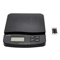 Digits Kunststoff elektronische Skala 30KG / 1G Table Top Paket Brief-Porto Wiegen Elektronische Waagen LCD mit Hintergrundbeleuchtung