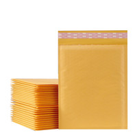 100 pcs lot (110*130mm) Yellow Bubble Mailers Padded Envelop...