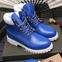 2020 New Fashion Luxury Men Women Boots Fashionable Comfortable Leather Women Boots Presbyopia Motorcycle Couple Martin Boots size 35-46