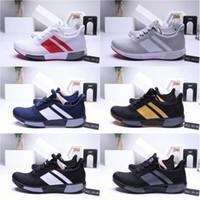 new styles 2dd2c 543fe HOMMES 2019 adidas Sneaker en tricot d ombre tubulaire été respirer maille  running chaussures de