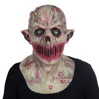 Веселая Прохладная Хэллоуин Кровавая Страшная Маска Ужаса Для Взрослых Зомби-Монстр Маска Вампира Костюм из Латекса Партии Полная Голова Косплей Маска Маскарад Реквизит
