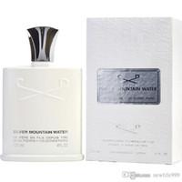Creed homem perfume para homens prata montanha água aventus durando fragrância spray 125ml 4fló alta qualidade e entrega rápida