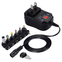LED電球LEDストリップのための3V 4.5V 5V 6V 7.5V 9V 12V 2A 2.5A AC / DCアダプター調整可能な電源の普遍的なアダプター充電器LEDストリップ