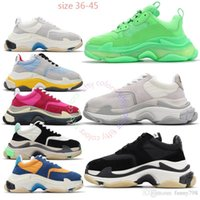 2019 best top quality bottom triple s designer old dad shoes...