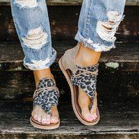 Women Sandals Leopard Print Summer Shoes Summer Strap Sandal...