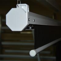 Freeshipping E1BJH 80 92 100 Écran de projecteur électrique 120 pouces 16: 9 Home Cinema Business School Bar Motorized LED DLP Écran de projection