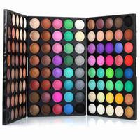 drop shipping POPFEEL 120 Colori Ombretto Palette Gliltter Ombretto opaco Shimmer Nude Make Up Kit set di palette