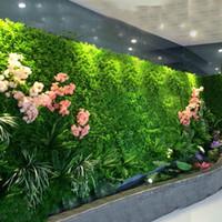 الاصطناعي الأخضر الكرمة اللبلاب الأخضر ورقة جدار مصنع شنقا ديكور زهور البلاستيك القش العشب بونساي الرئيسية اكسسوارات الزفاف 12