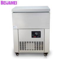 BEIJAMEI Ticari 6 varil buz blok sütun yapma makinesi sürekli buz tıraş ayağı yapma makinesi buz tuğla makinesi