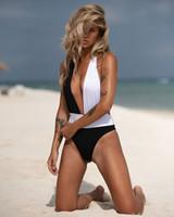 Persönlichkeit mit tiefem V-Bikini Fashion Taille Leopard-Badeanzug-Sommer-Strand-Multi-Badebekleidung Sexy Backless Badeanzug-Frauen gepolsterter BH Bikini