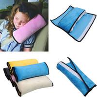 Child Safety Car Seat Schultergurt Tasche Praktische Seiten Schlaf Gurtauflage Strap Harness Schulter Schlaf-Kissen-Kissen für Kinder reizendes Geschenk