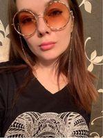 Moda Womens Cadeias De Óculos De Prata De Ouro Óculos De Sol Óculos de Leitura Frisado Cadeia Eyewears Cord Titular neck strap Corda