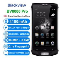 Blackview BV8000 Pro 스마트 폰 IP68 방수 MT6757 옥타 코어 6G RAM 64G ROM 5.0 인치 1920 * 1080 16.0MP 4G 안드로이드 7.0 전화
