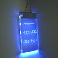 8cm longue Satin Silver Aluminium pantented lumineux LED signe Clamp pour Plexiglas Clamp pour la publicité