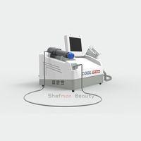 портативный целлюлят жир замораживания ударной волны физиотерапии машина для похудения / вакуум Cryolipolysis Тонкого Замораживания Пояса Криотерапия машина