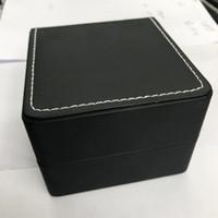 Contenitori di vigilanza classica pelle nera con aspetto nero, bianco all'interno filo per cucire e fuori.