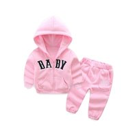 kids tracksuit girls tracksuit kids designer clothes girls suits Hoodies coat+ trousers pants casual kid sets kids sportswear A6450