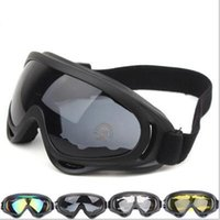 Protección UV al aire caliente X400 Deportes anti-vaho Gafas de esquí snowboard del patín del motocrós de control de disturbios gafas de esquí alpino