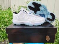 11 Düşük Legend Mavi 11 Beyaz Bayan Basketbol Sneakers 11'ler Concord Space Jam Salonu Kırmızı Legend Mavi Ucuz Ayakkabı Erkek spor ayakkabı Bred